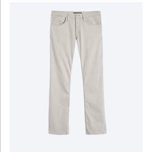 Men's Grey Pants- Straight Leg